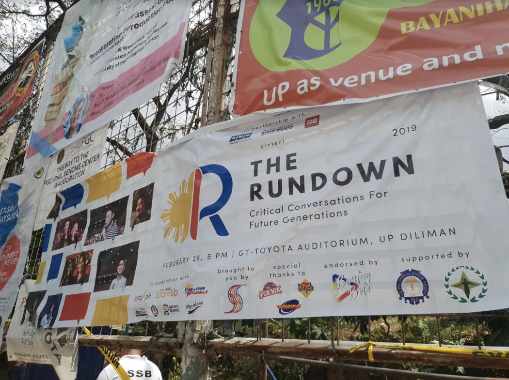 The Rundown 2019 senatorial forum