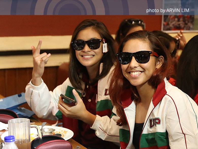 UAAP themed sunglasses by Fly Shades (Arvin Lim/ABS-CBN)