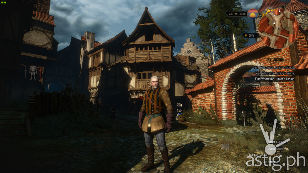Witcher 3 high settings - ASUS TUF Gaming FX705GE