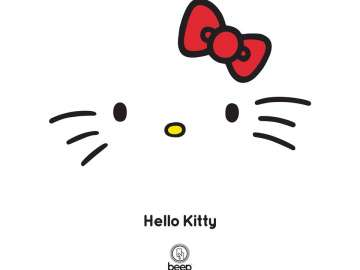 Hello Kitty beep card