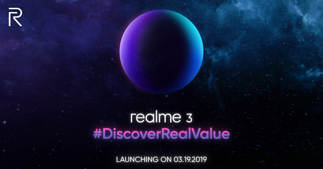realme 3 launch (Philippines) teaser