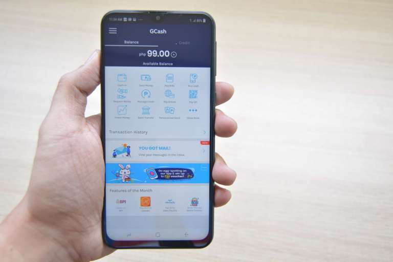 GCash lets you transfer money using your mobile phone in the Philippines