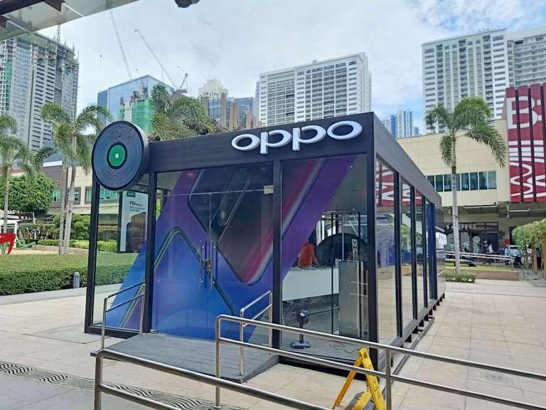 OPPO Popup Store BGC High Street