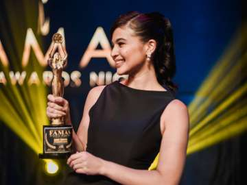 FAMAS FPJ Memorial Award recipient Anne Curtis