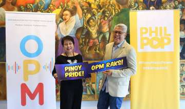 PETA President Cecilia Garrucho and PhilPop Music Festival Chairman and Board Member Maestro Ryan Cayabyab