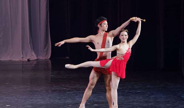 Diana et Acteon Dances Its Way to 6th Ballet Festival in Nagano