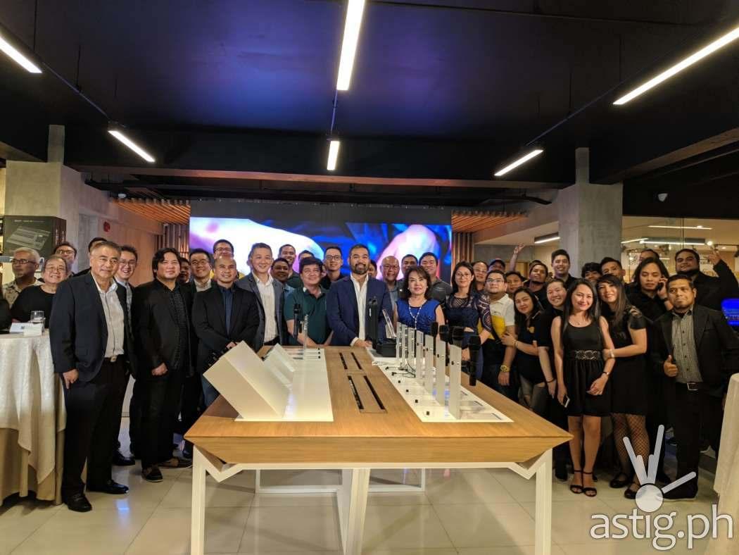 Sennheiser x JB Music MOA signing at the JB Music flagship store along EDSA, Mandaluyong City, Philippines