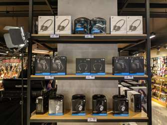 Sennheiser x JB Music MOA signing at the JB Music flagship store along EDSA, Mandaluyong City, Philippines