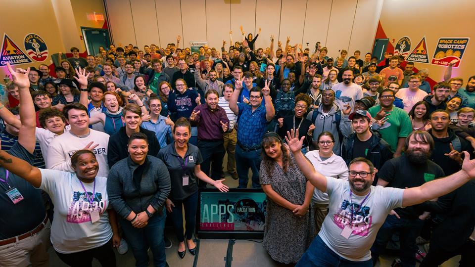 2018 hackathon at Huntsville, AL - NASA Space Apps Challenge