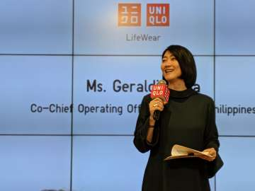 Geraldine Sia, Co-COO, UNIQLO Philippines