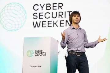 Yury Namestnikov, Head of Global Research and Analysis Team (GReAT) Russia at Kaspersky