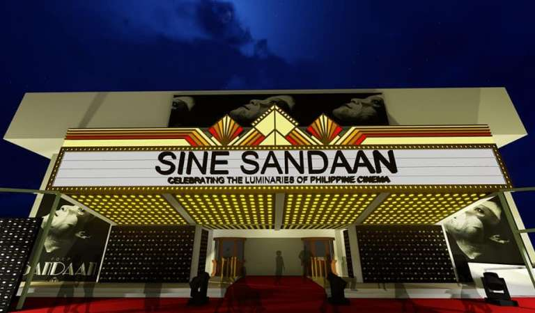 Pinoy Art Deco Cinema Theme At Sine Sandaan Grand Celebration