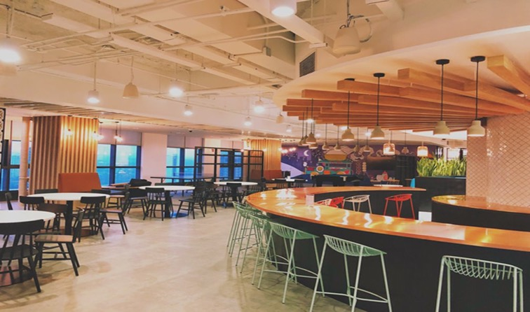 PayPal Philippines Cafeteria