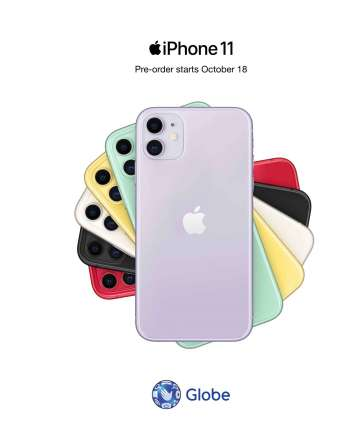 iPhone11 Philippines Globe Telecom