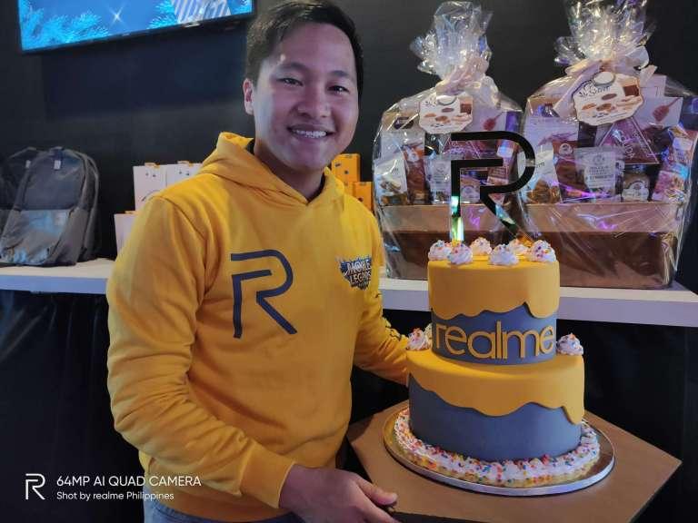 Eason de Guzman, Marketing Lead, realme Philippines - Realme Philippines Anniversary