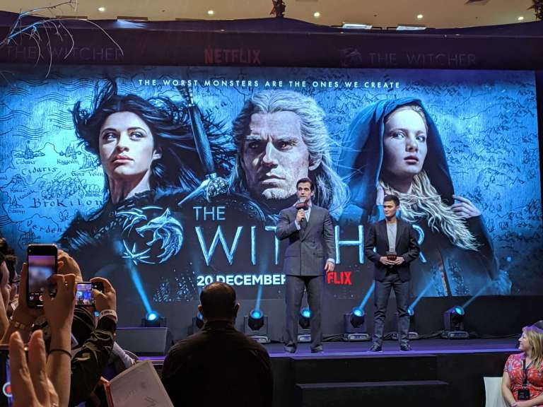 "Henry Cavill as ""The Witcher"" in Manila"