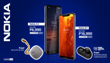 Key Visual - Nokia 8.1 and Nokia 3.2 get sweet deals
