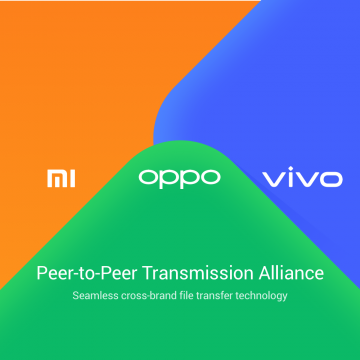 Xiaomi Oppo Vivo Peer to Peer Transmission Alliance