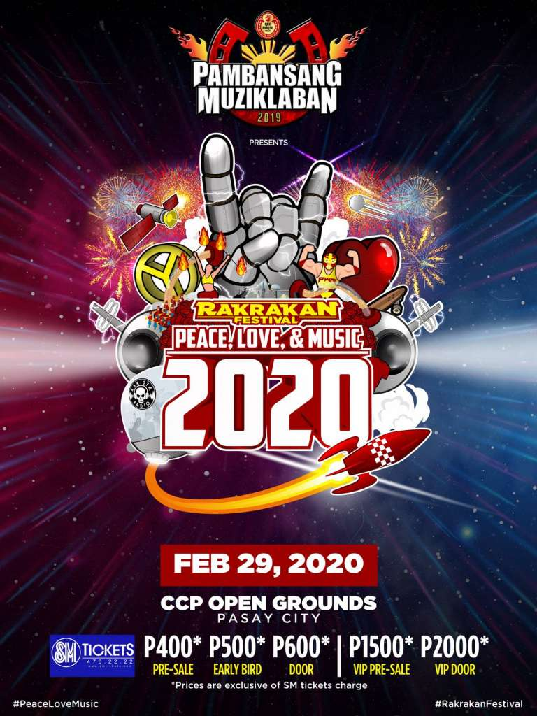 Rakrakan 2020 pricing