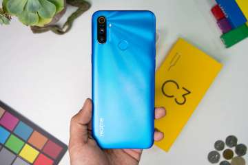 Back handheld - Realme C3 Philippines