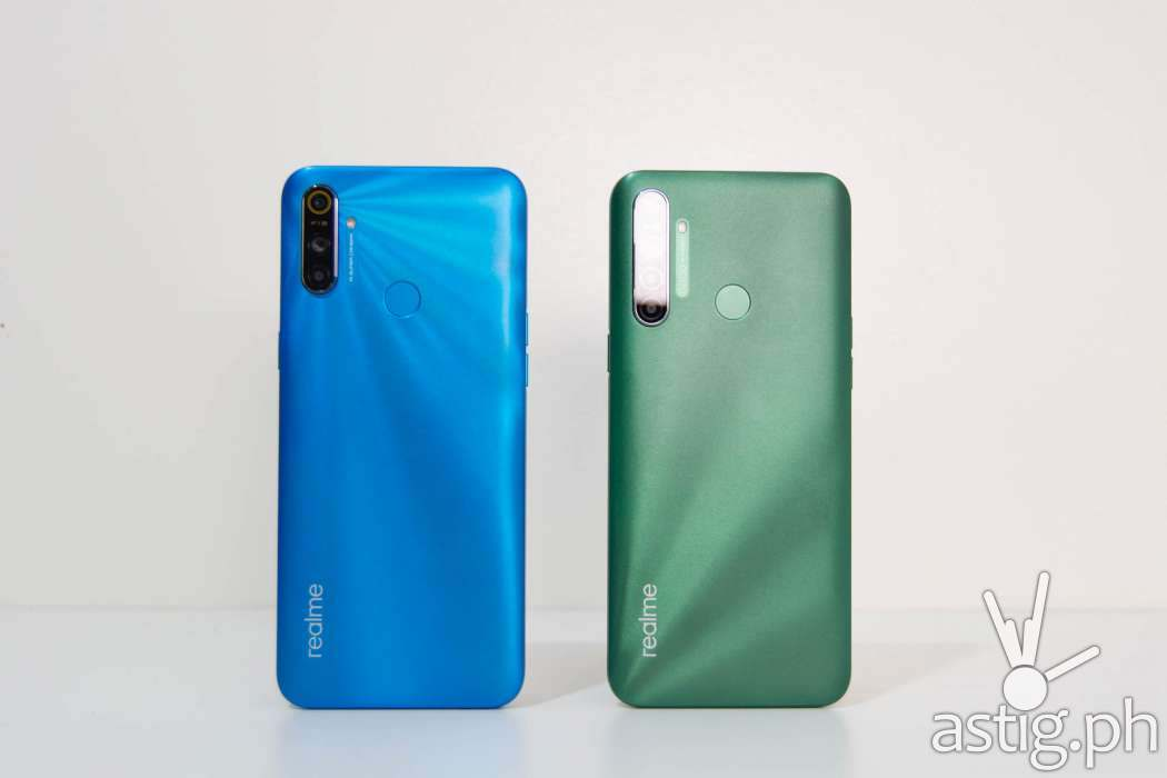 Back - realme C3 vs realme 5i (Philippines)