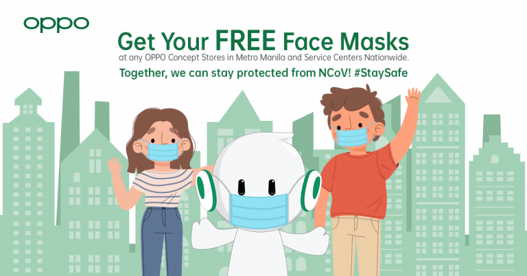 Face Mask Media Advisory OPPO