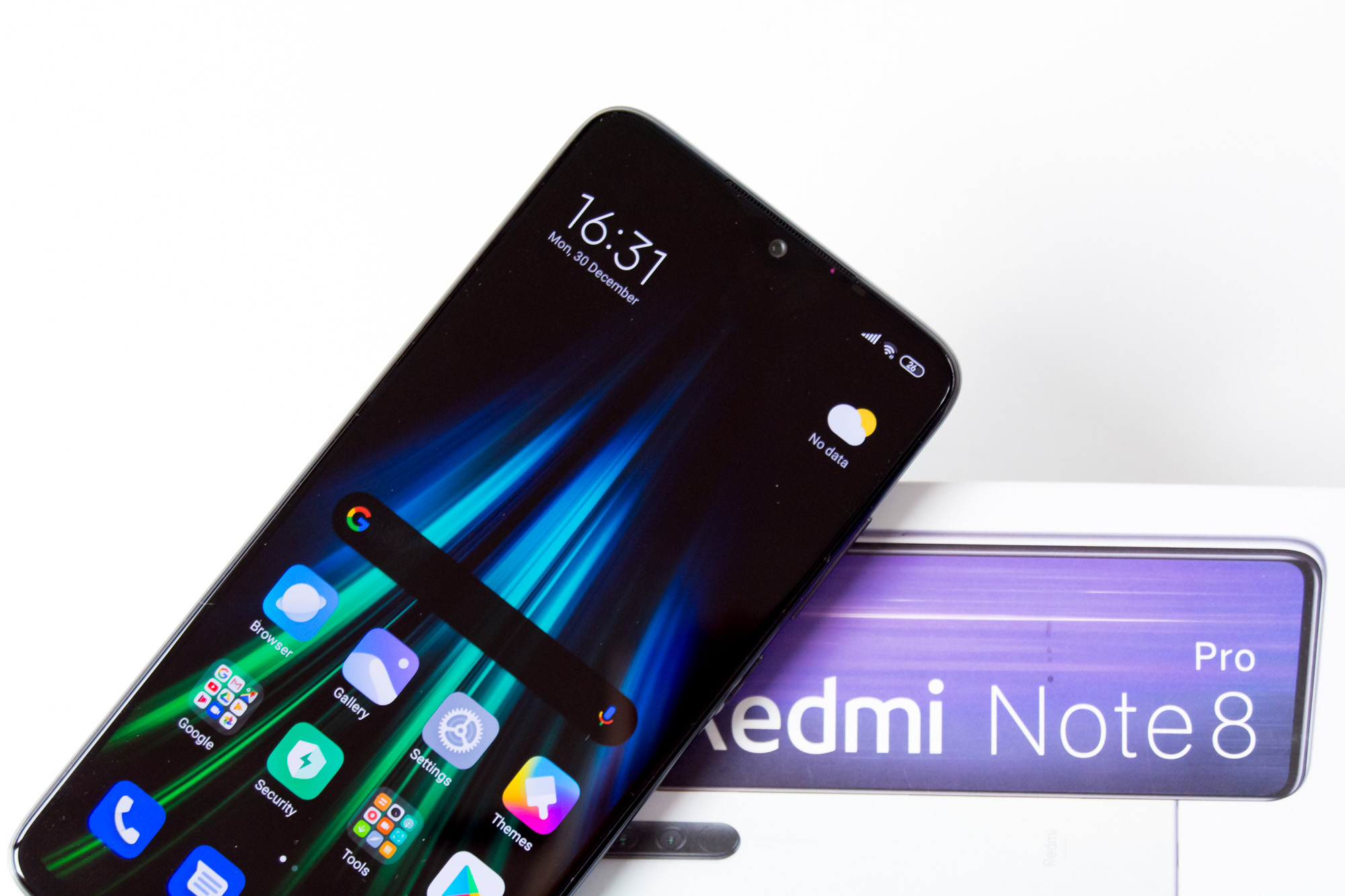 Front on box - Redmi Note 8 Pro (Philippines)