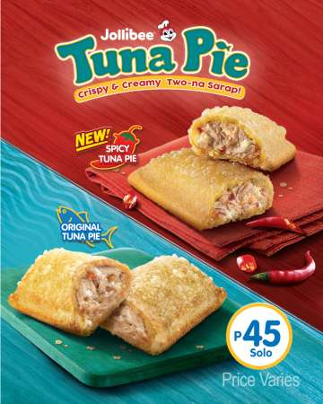 Jollibee Spicy Tuna Pie