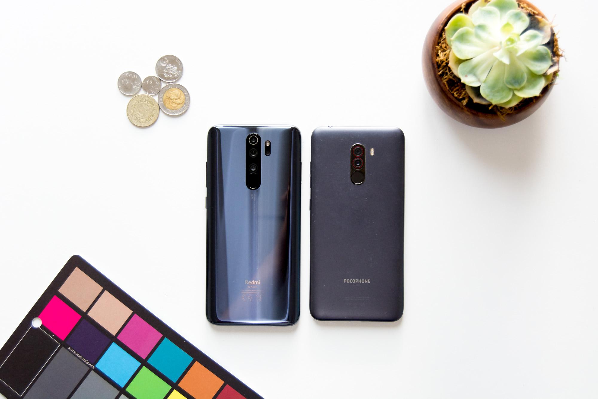 Redmi Note 8 Pro vs Pocophone F1 (back)