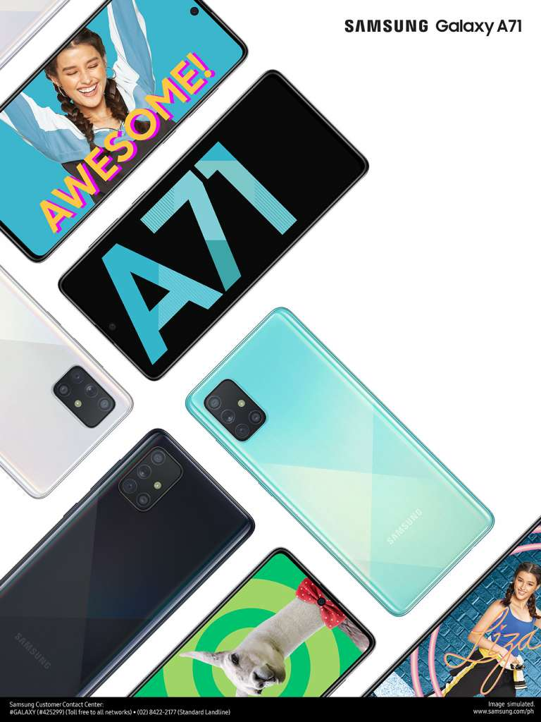 Samsung Galaxy A71 (Philippines)