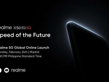 realme X50 Pro 5G Live-Stream-Announcement Philippines