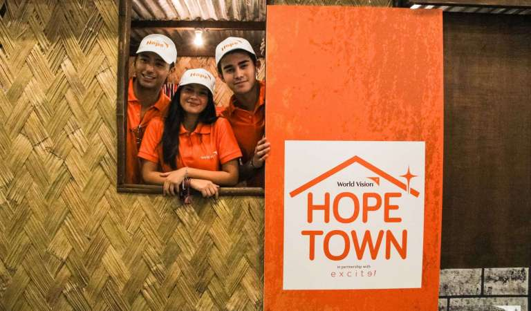 """Celebrity Ambassadors Help Launch World Vision's """"Hope Town"""""""