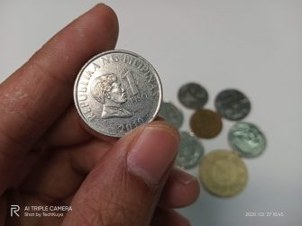 Coins (main camera) - realme C3 sample photo (Philippines)