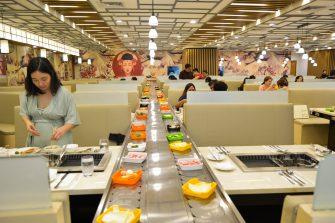 Dining area - Hosaku International Buffet Philippines SM North Tower 2