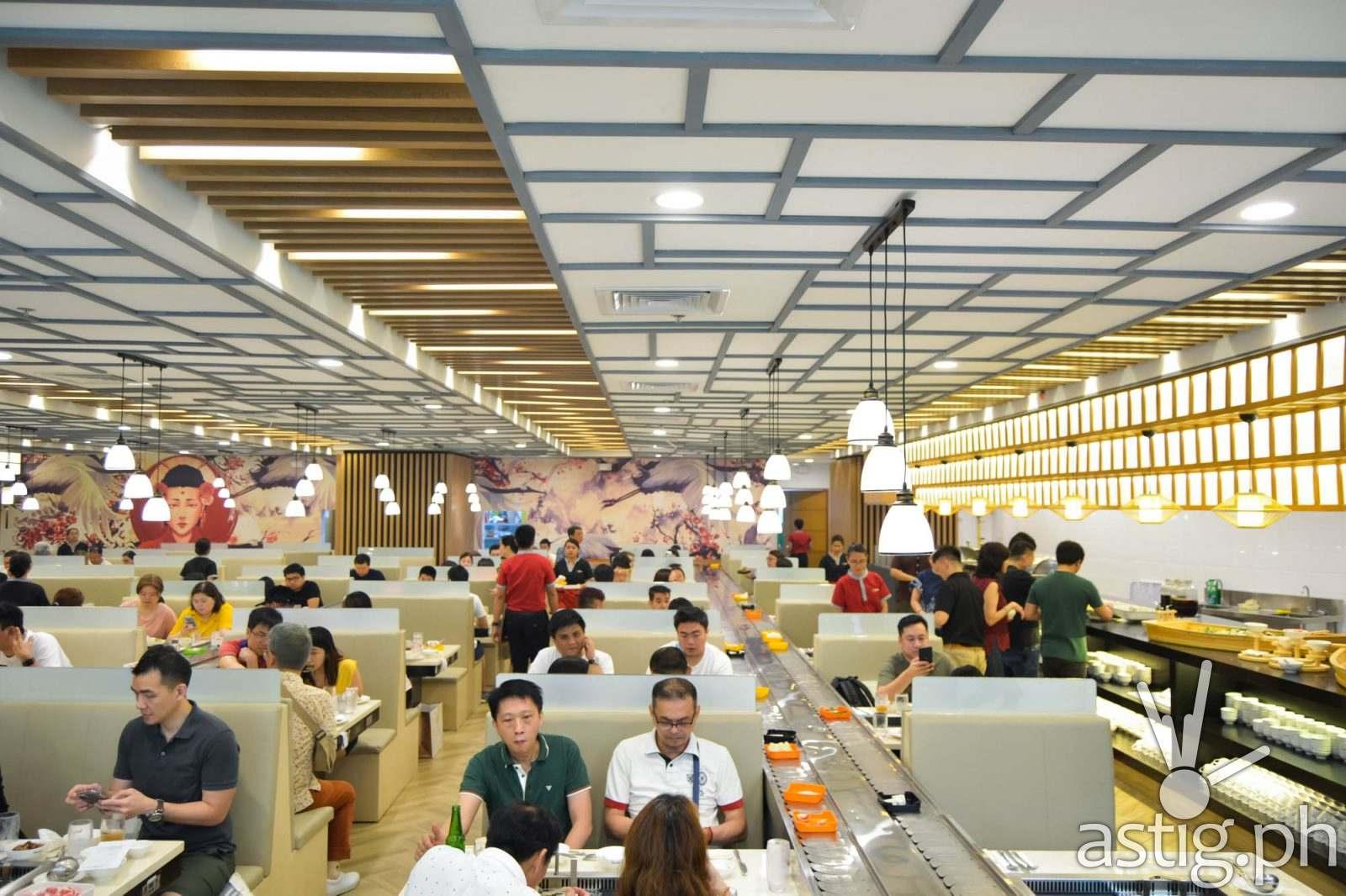 Dining hall - Hosaku International Buffet Philippines SM North Tower 2