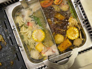 Hot pot shabu-shabu - Hosaku International Buffet Philippines SM North Tower 2