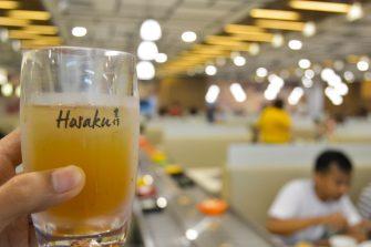 Iced tea - Hosaku International Buffet Philippines SM North Tower 2