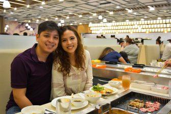 Lloyd Urbino Me-An Clemente - Hosaku International Buffet Philippines SM North Tower 2
