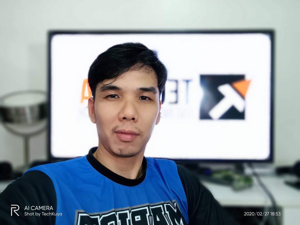Selfie - realme C3 sample photo (Philippines)