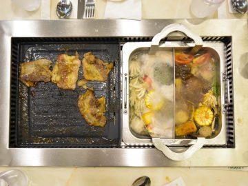 Yakiniku grill and shabu shabu hot pot - Hosaku International Buffet Philippines SM North Tower 2