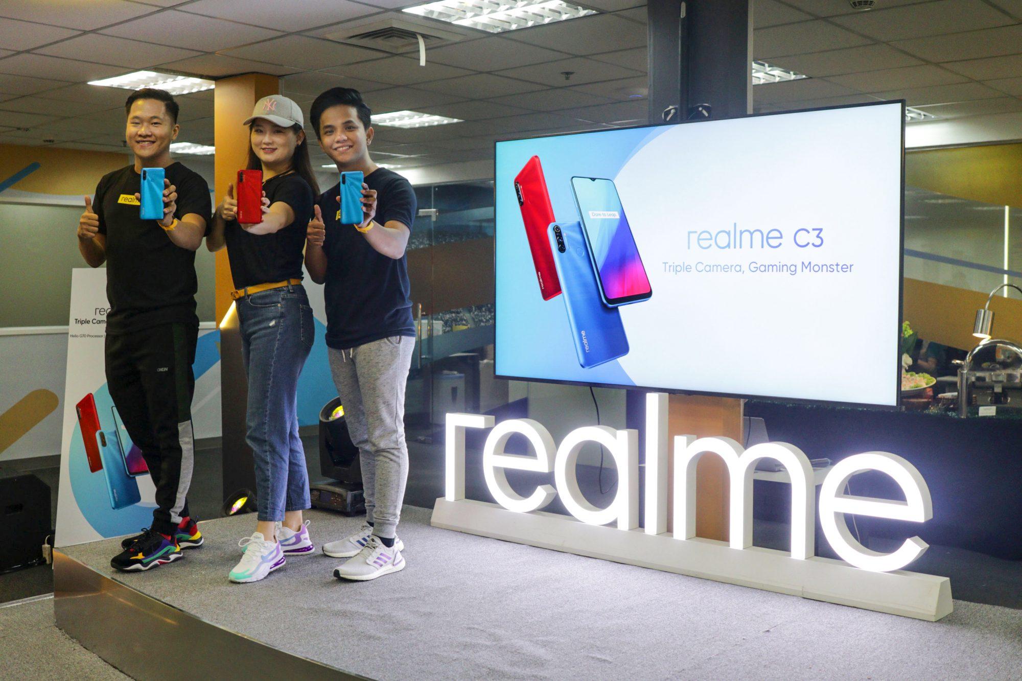 realme C3 Philippines launch