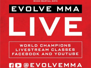EVolveAtHome Evolve MMA online class free