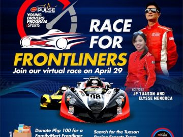 Join Tuason Racing School and Phoenix Pulse - LG Philippines