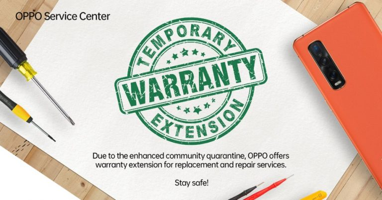 OPPO Implements Warranty Extension during Coronavirus lockdown