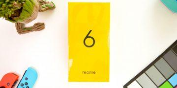 Box flatlay - realme 6 (Philippines)