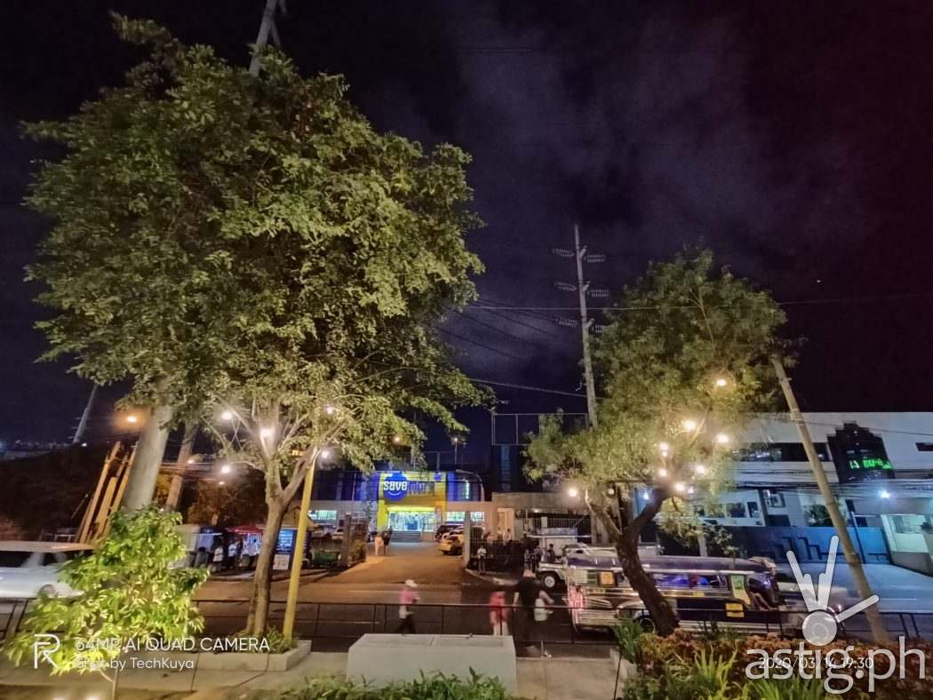 City night mode ultrawide sample photo - Realme 6 (Philippines)