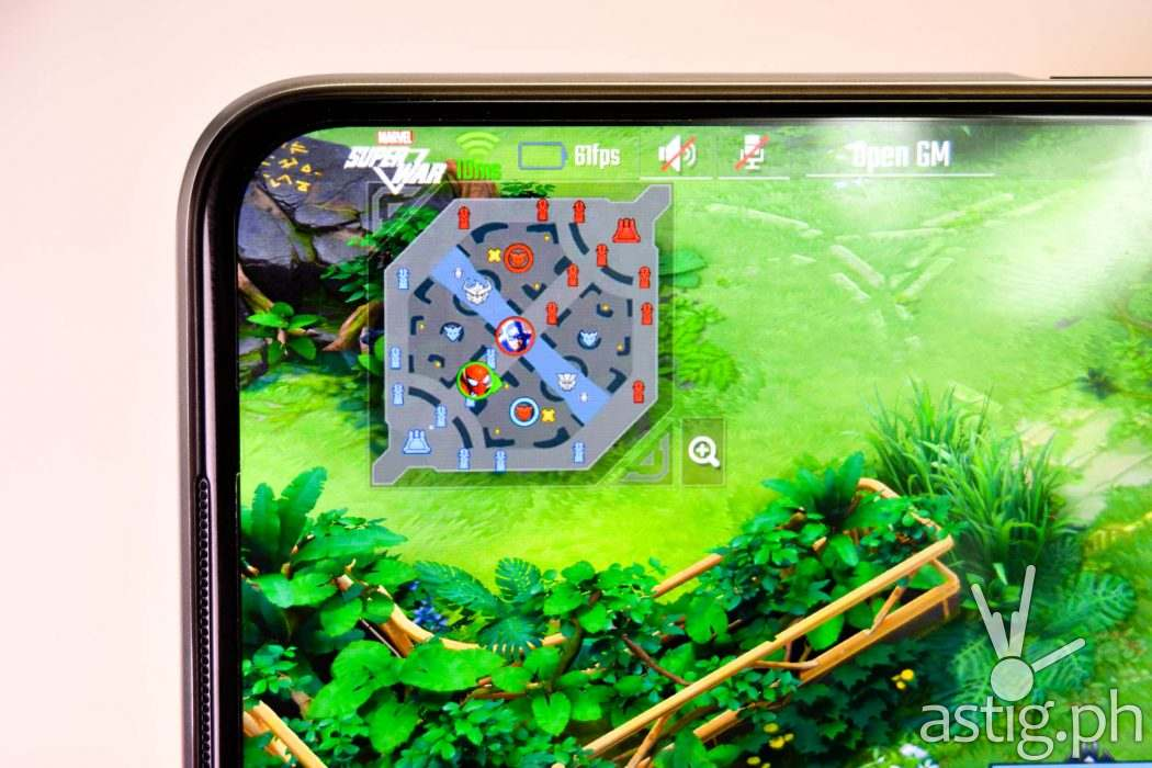 Gaming frame rate closeup - realme 6 (Philippines)