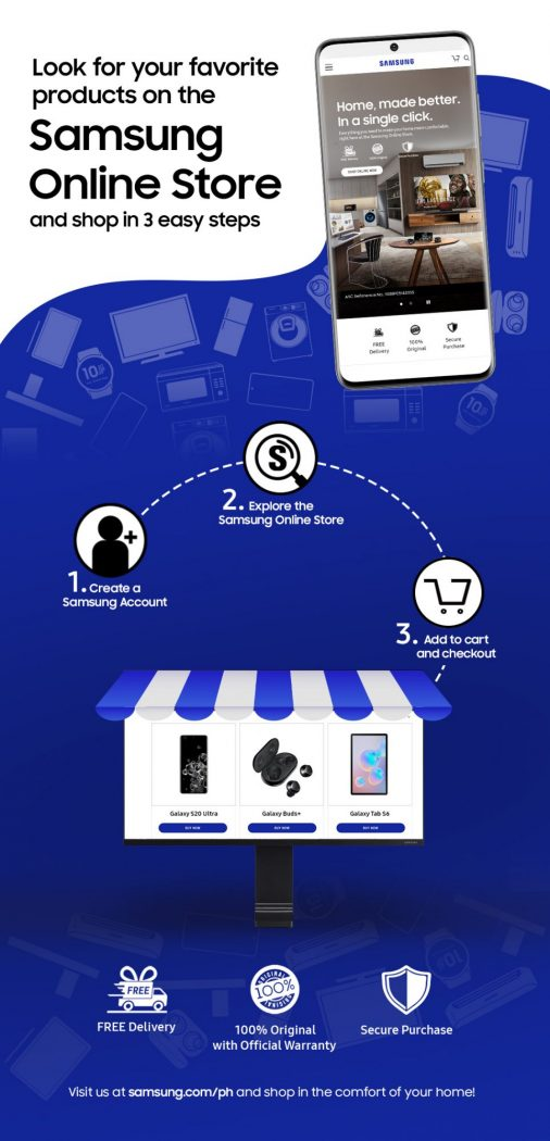 [Infographics] SAMSUNG Online Store