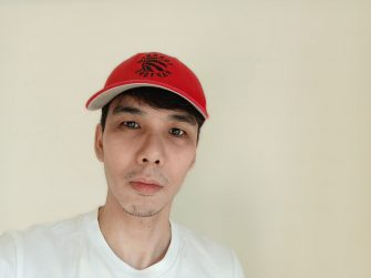 Selfie - realme 6i sample photo