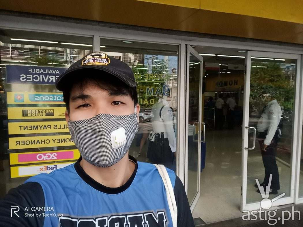 Selfie sample photo - Realme 6 (Philippines)